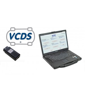 Tablette  Diagnostic PanasonicCF-53  VCDS pour groupe VAG (1990 à 2019+)