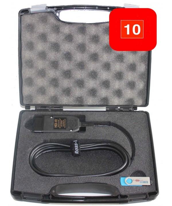 Kit Enthousiasme 10 VIN USB : HEX-V2 10 VIN + Mallette sur mesure + Clé USB