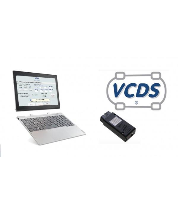 Valise diagnostic : Tablette Lenovo 10 pouces + HEX-NET PRO (WIFI+USB)