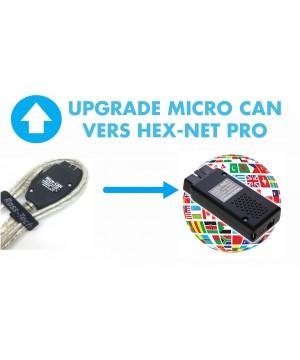 Programme de remplacement d'HEX-CAN encore garanti vers l'HEX-V2 PRO