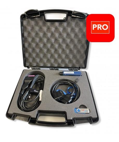Kit Professionnel  HEX-NET VCDS avec valise de rangement, 2 adaptateurs + clé USB